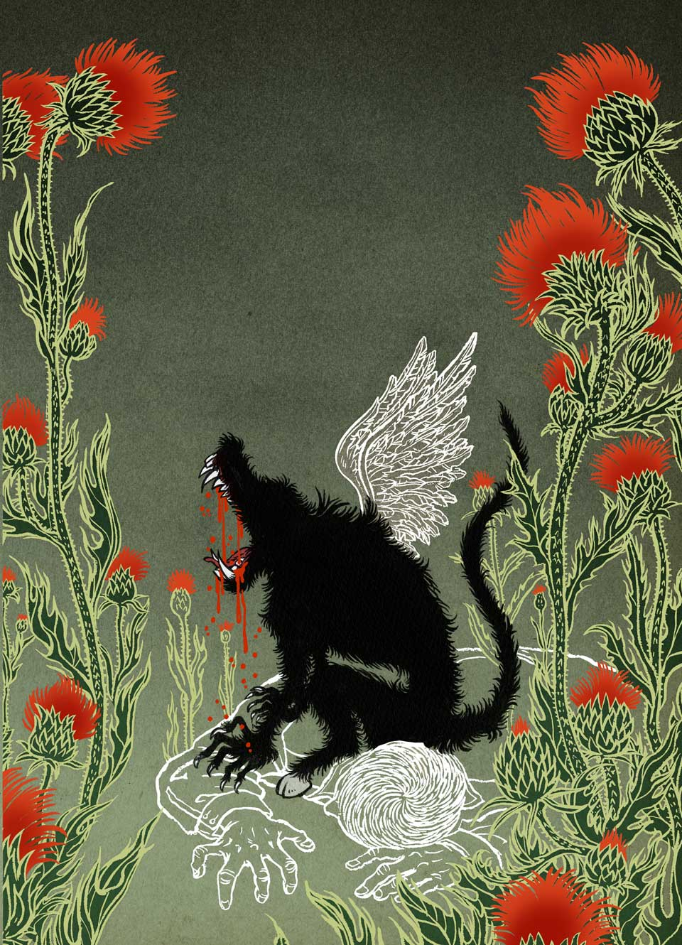 Yuko Shimizu - Monstrous Affections book cover -