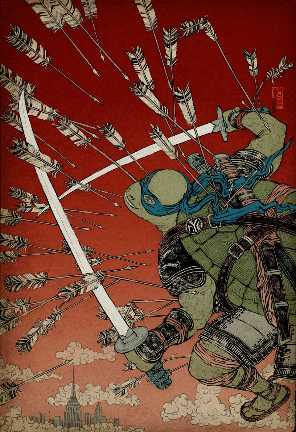 Yuko Shimizu - Teenage Mutant Ninja Turtles for Paramount Pictures -