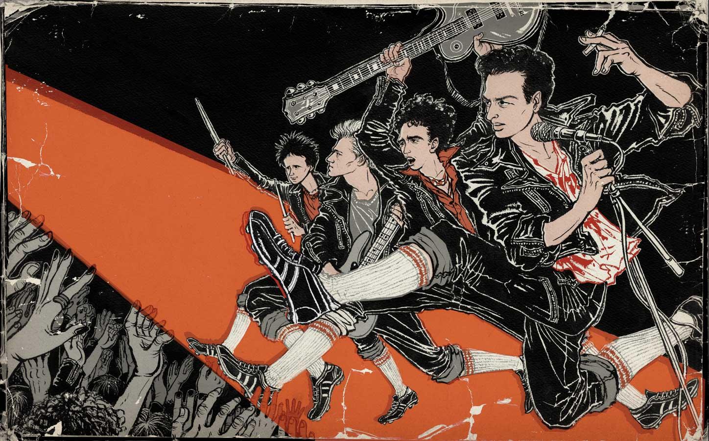 Yuko Shimizu - 8by8 The Clash portrait -