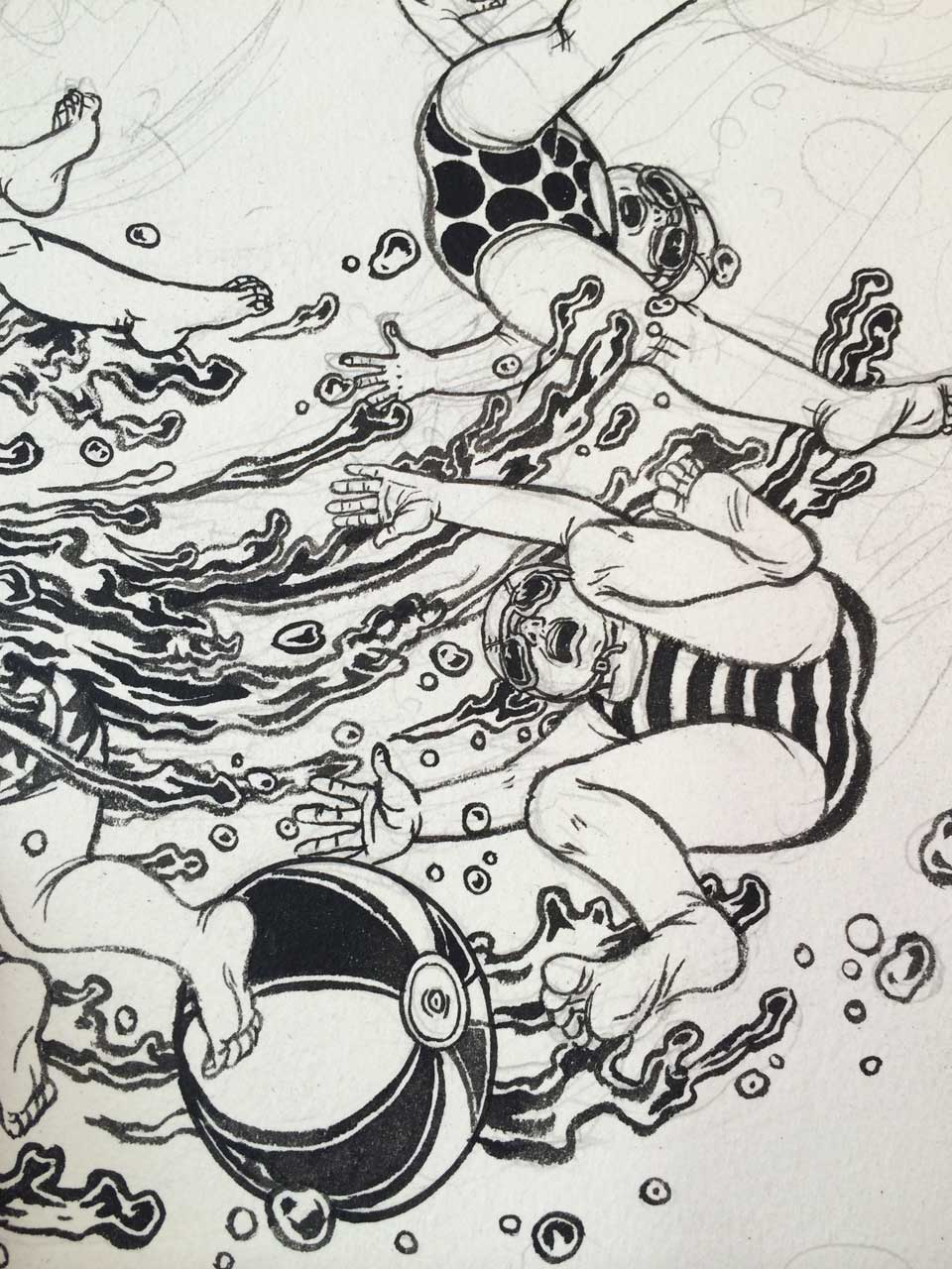 Yuko Shimizu - PLANSPONSOR –kiddy pool emergency– -