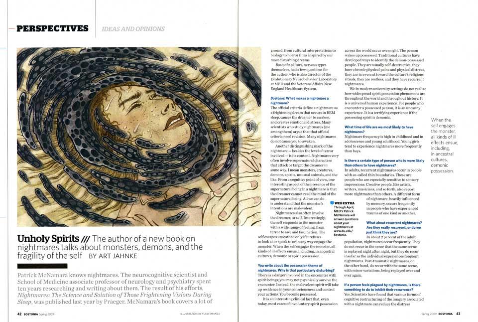 BOSTONIA Magazine: Science Nightmares